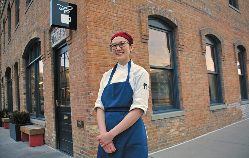 COVID-19: Emily Marks pastry chef at the Bachelor Farmer restaurant