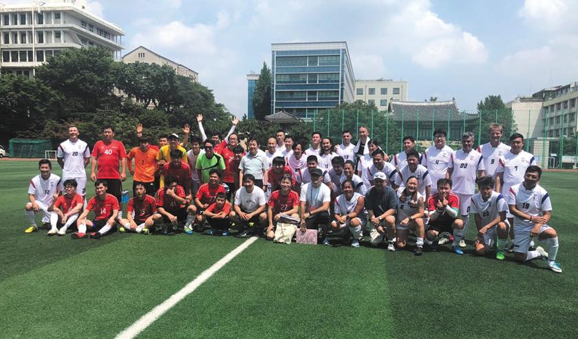 IKAA soccer champions