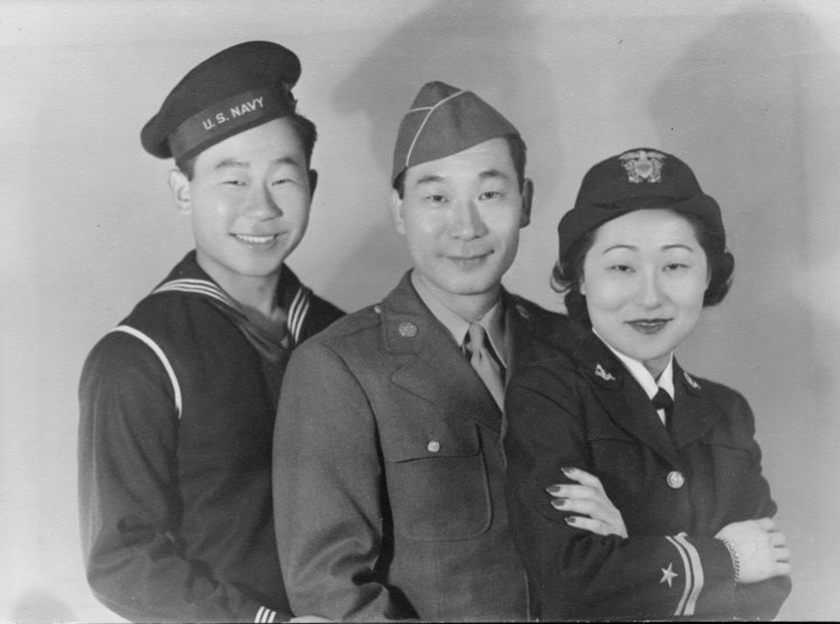 "PBS series ""Asian Americans"" featuring Ralph Ahn, Philip Ahn and Susan Ahn Cuddy."