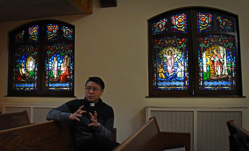COVID-19: Rev. Jay Jeong of Mounds Park United Methodist Church in St. Paul