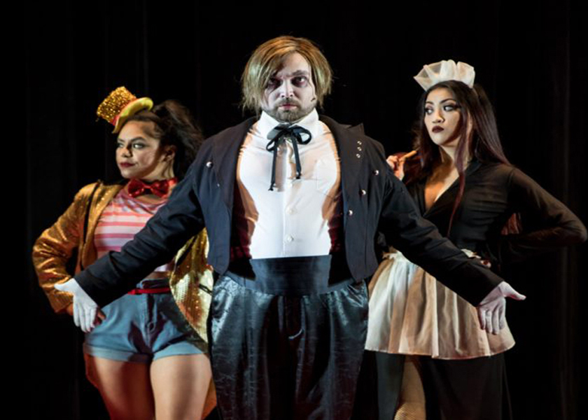 """Park Square Theater presents """"Rocky Horror Picture Show""""  cult classic musical with modern twists by Richard O'Brien."""