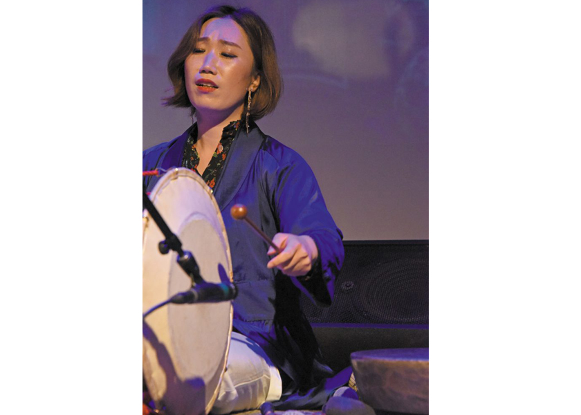 Kim So Ra performs in Minneapolis.