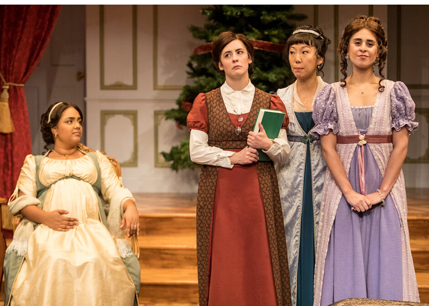 """Jungle Theater presents """"Miss Bennet"""" with Sun Mee Chomet."""