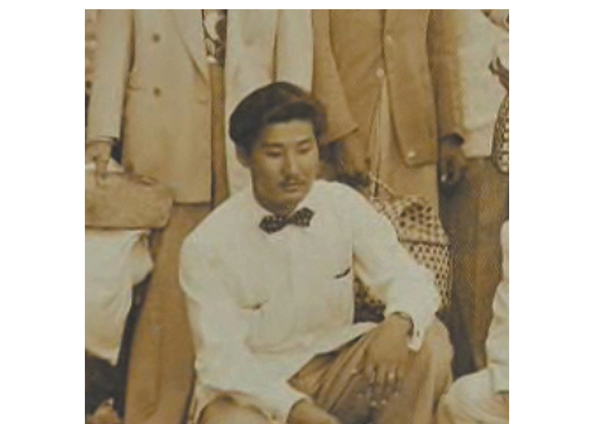 Documentary film: Jeronimo, the Untold Tales of Koreans in Cuba by filmmaker Joseph Juhn.  Jeronimo Lim at age 20.