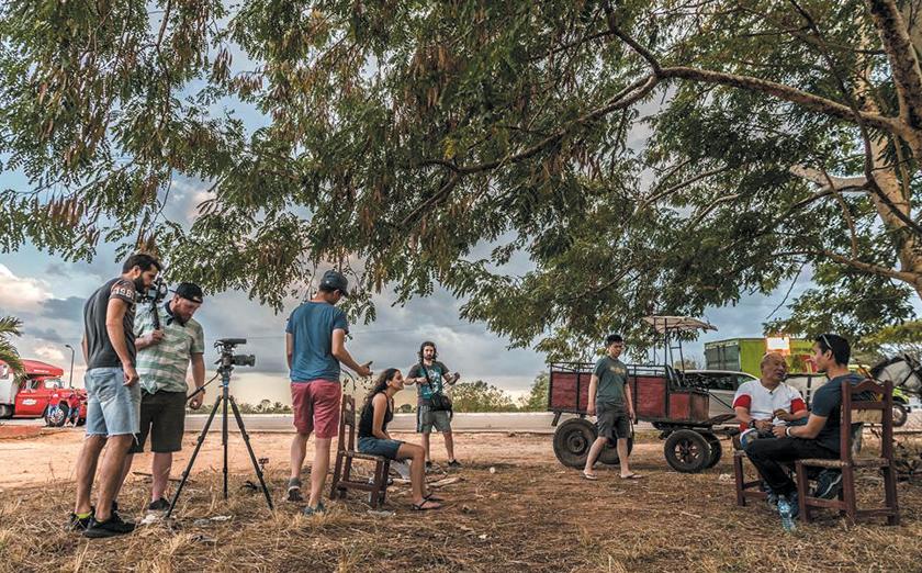 Documentary film: Jeronimo, the Untold Tales of Koreans in Cuba by filmmaker Joseph Juhn.  Production crew in Cuba.
