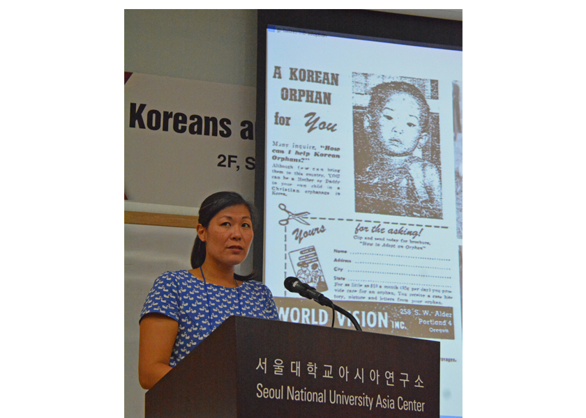 Adopted Korean Mosiac Hapa tour conference speaker Sue-Je Lee Gage.